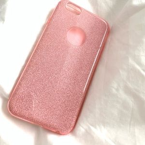 Accessories - Pink sparkle iPhone 7 case